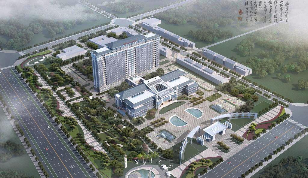 本次为铜仁市人民医院提供十数台aep200系列病床电梯